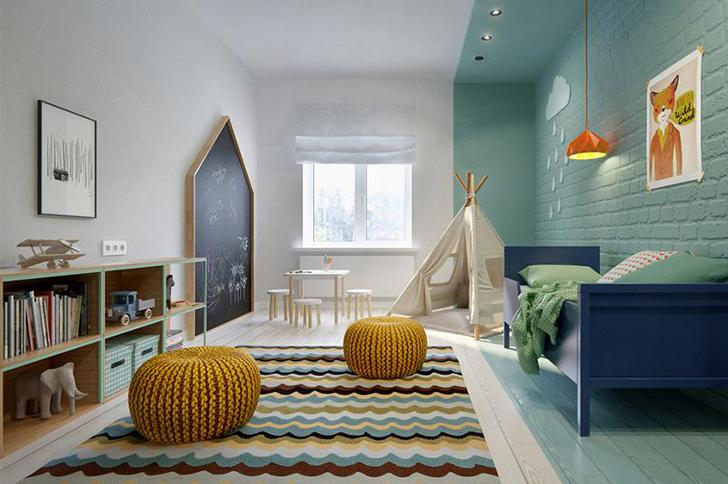 Cuarto infantil lleno de color en una casa de diseño | DecoPeques