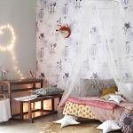 Dormitorios románticos para niñas