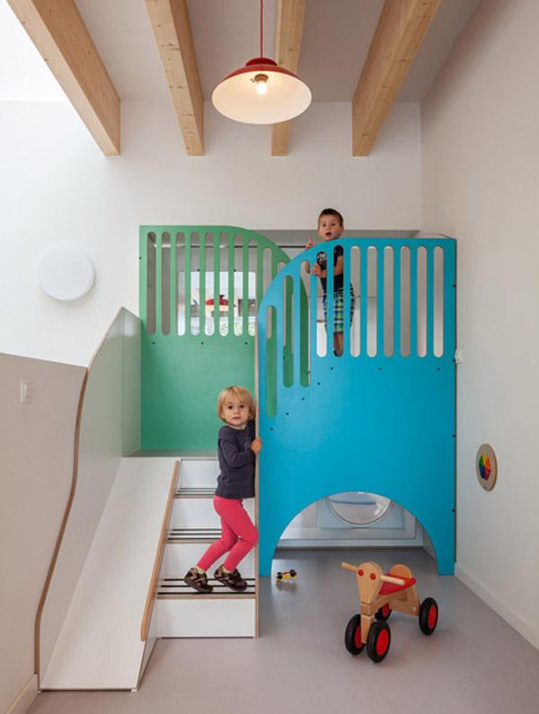 Espacio infantil de diseño en Bruselas