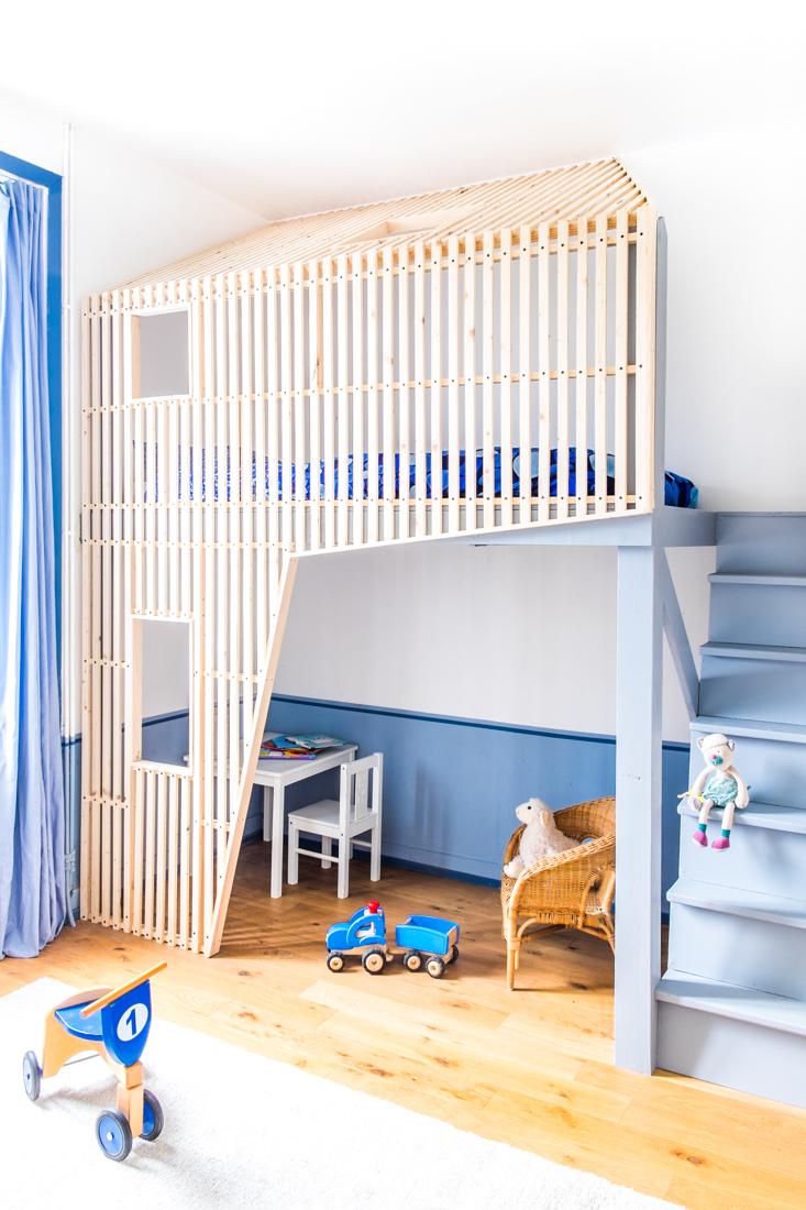 Habitaciones infantiles en azul para ni os - Color paredes habitacion ...