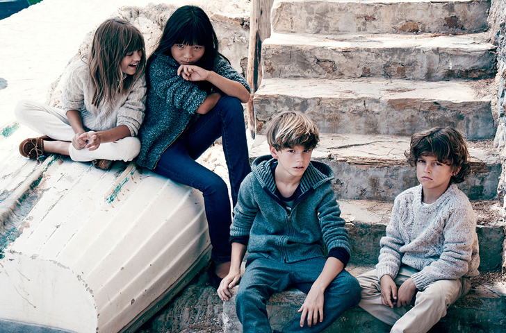 La moda infantil de Massimo Dutti para este otoño 2015
