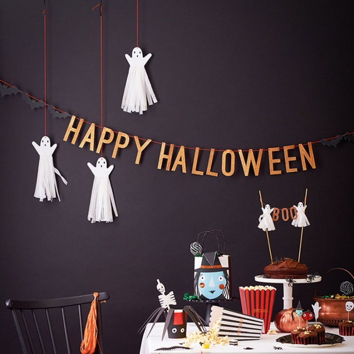 1. terrorifica fiesta de halloween decoracion