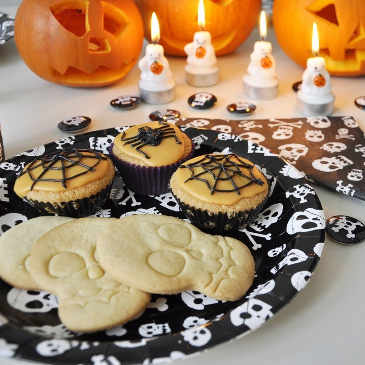 2. terrorifica fiesta de halloween comida