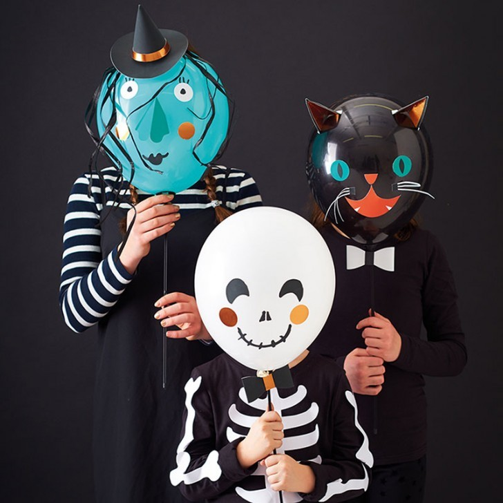 3. terrorifica fiesta de halloween globos