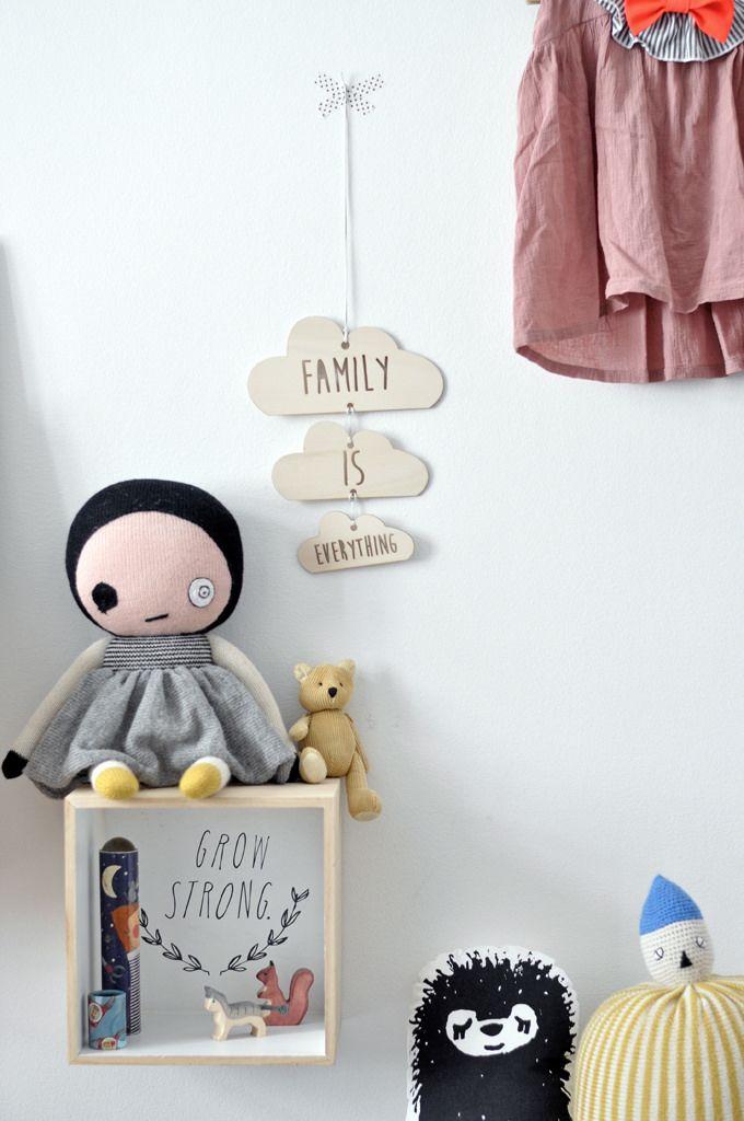 cajas estanteras diy para dormitorios infantiles
