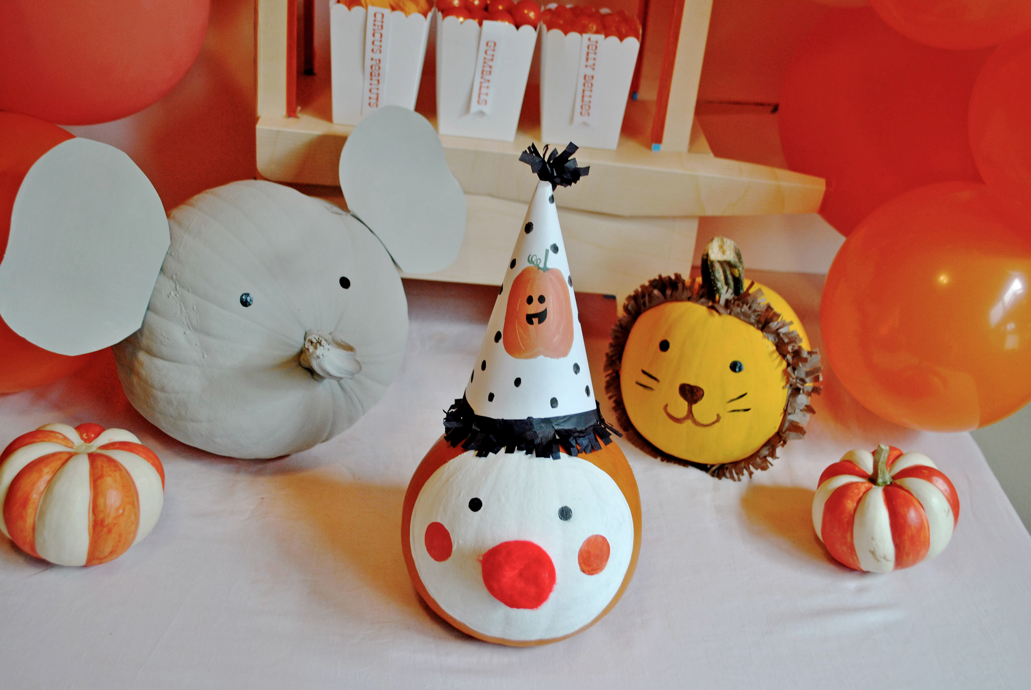 Calabazas de halloween decopeques for Decoracion facil decasa