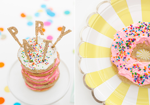 donuts decorados para fiestas con niños
