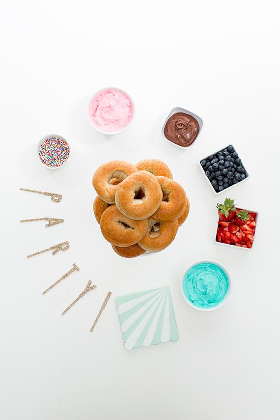 donuts decorados para fiestas