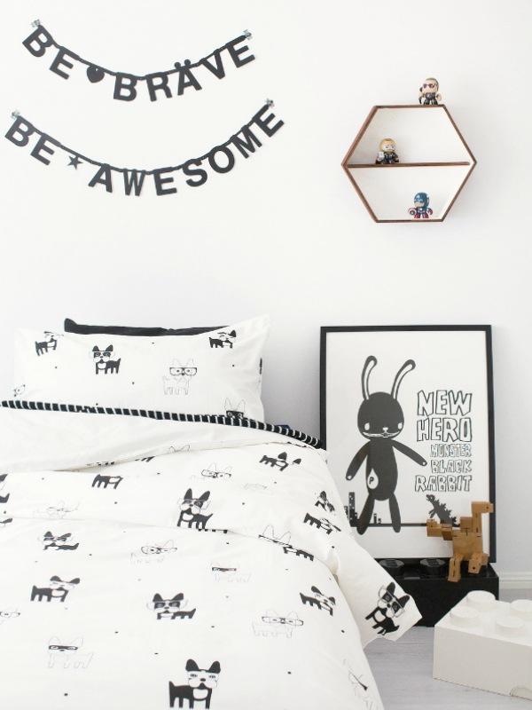dormitorio-infantil-blanco-negro