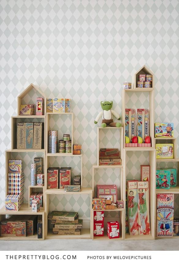 6 cajas estanter as diy para dormitorios infantiles - Estanterias para dormitorios ...