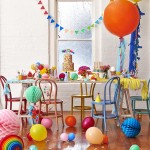 ¡Fiesta de colores para niños!