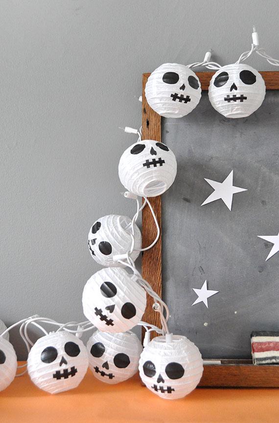 guirnalda halloweeen-bolas