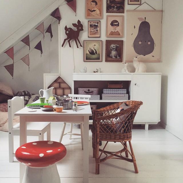 habitacion-infantil-papel-pintado-ideas