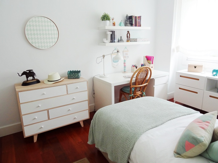 Dormitorios juveniles decopeques for Habitaciones juveniles chica