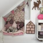 Ideas para decorar con papel pintado la habitación de los niños