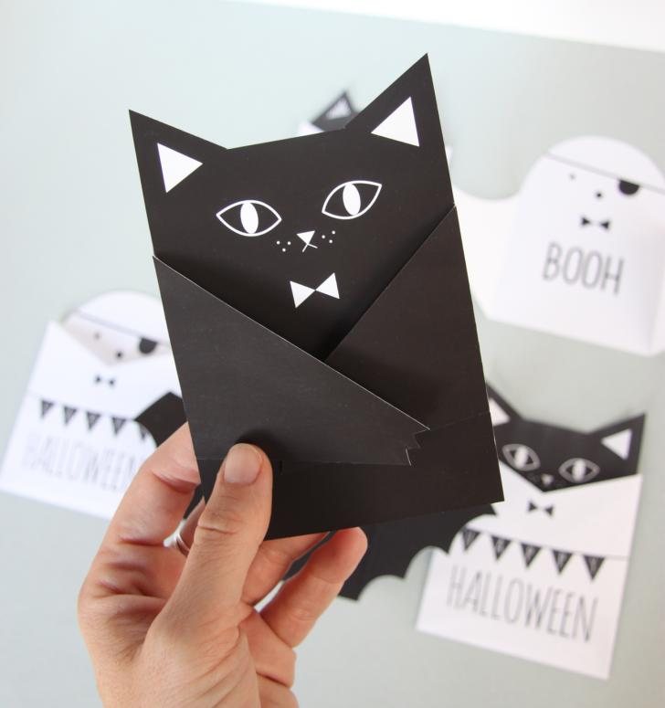 invitaciones-halloween-gato-niños