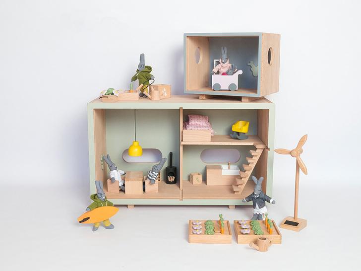 Casa de mu ecas ecol gica for Casita de madera ikea