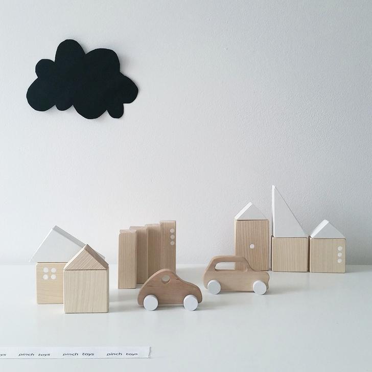 Pinch Toys, juguetes minimalistas handmade