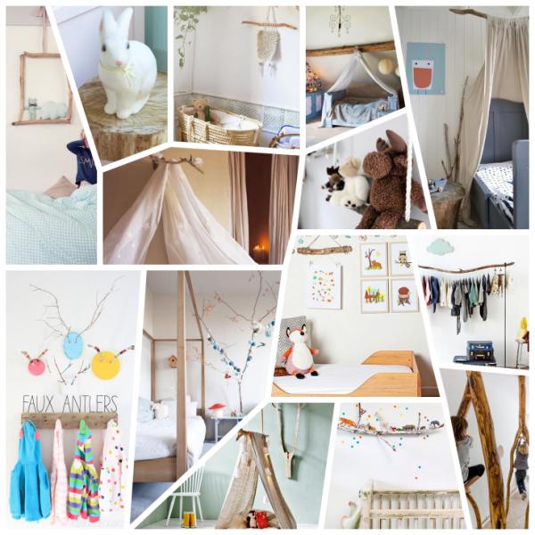 14 Ideas De Decoración Infantil Con Palos Ramas Y Troncos