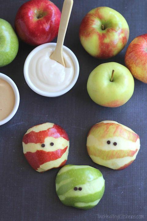 receta-manzana-halloween-niños
