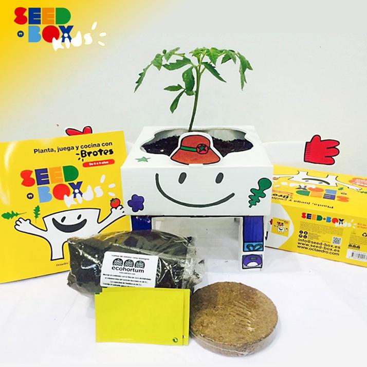 ¡Genial! Seed-Box, huertos urbanos para niños