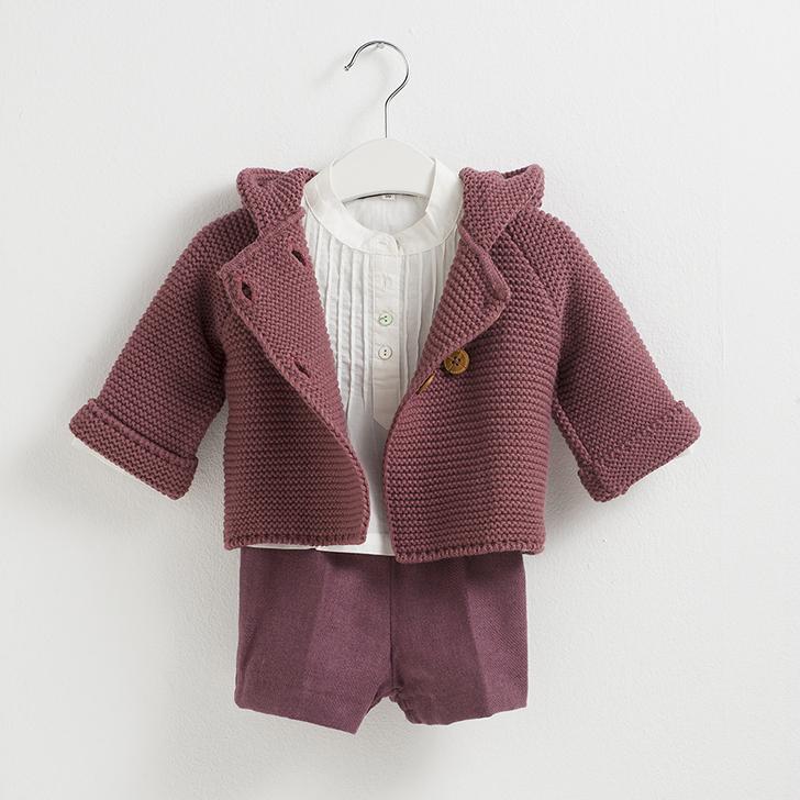 sainte-claire-moda-infantil-chaqueta-berenjena