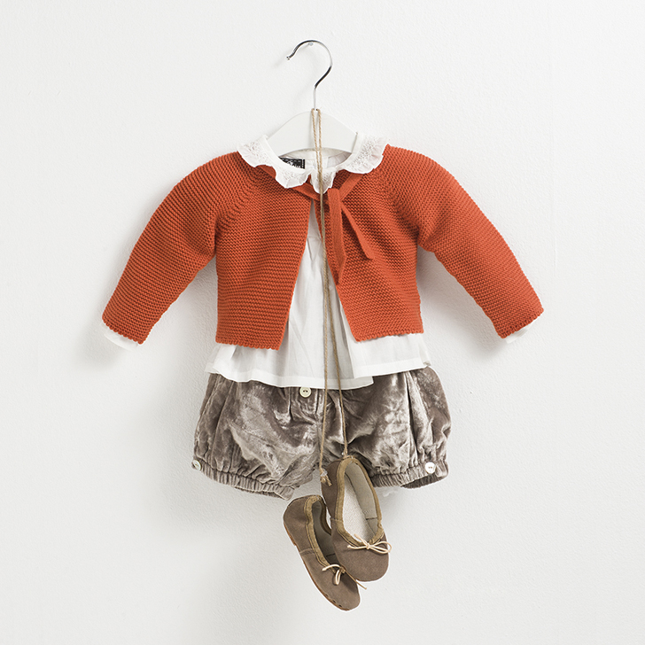 sainte-claire-moda-infantil-chaqueta-naranja
