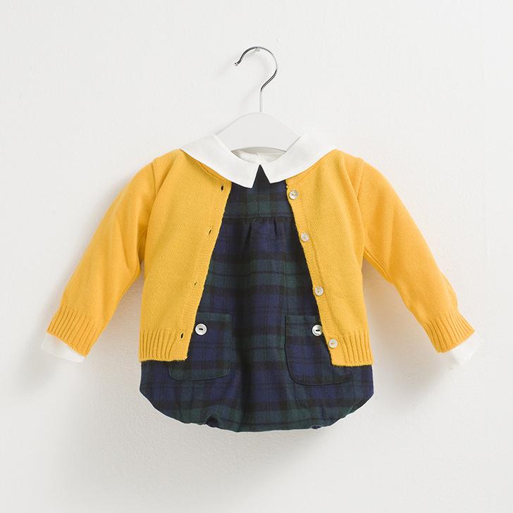 sainte-claire-moda-infantil-chaqueta-punto-amarillo