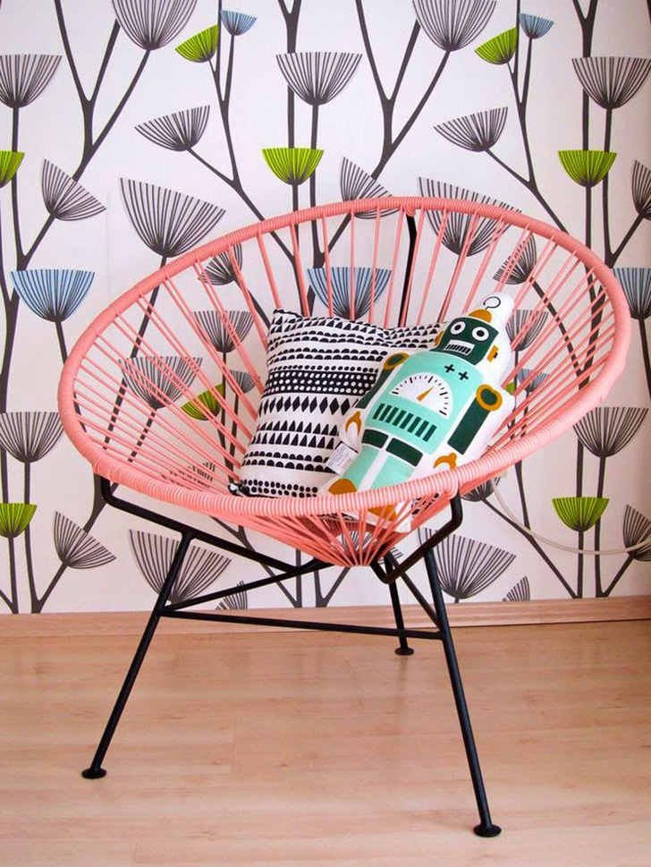 Silla RAR Rocking Chair de Charles & Ray en Superestudio.com