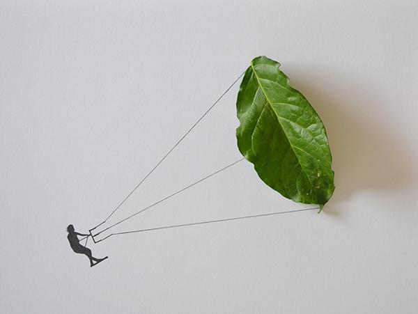 arte-con-hojas-diy-kite