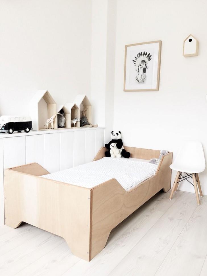 cama-madera-natural-infantil