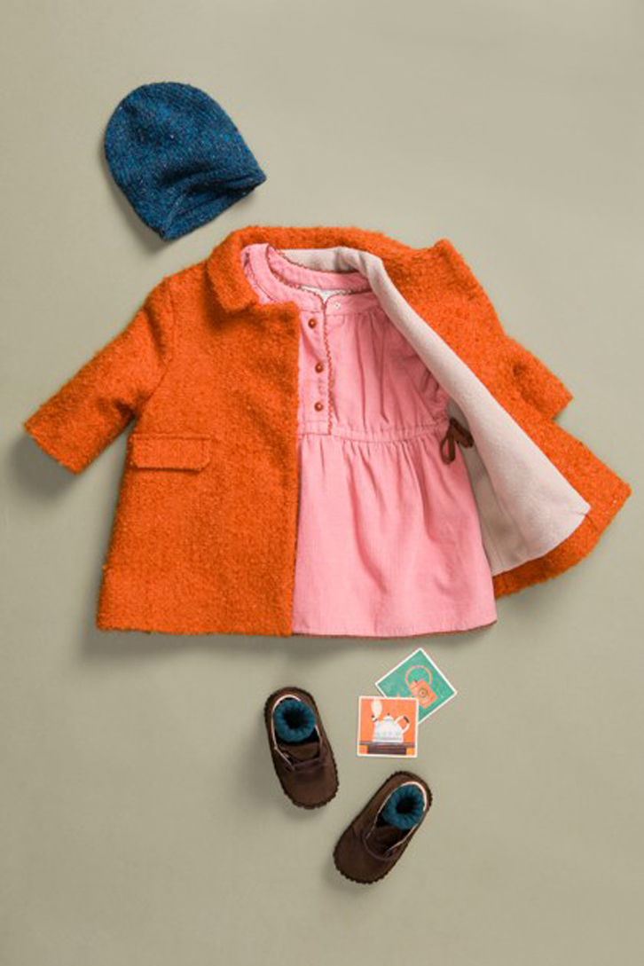 caramel-moda-bebe-abrigo-naranja