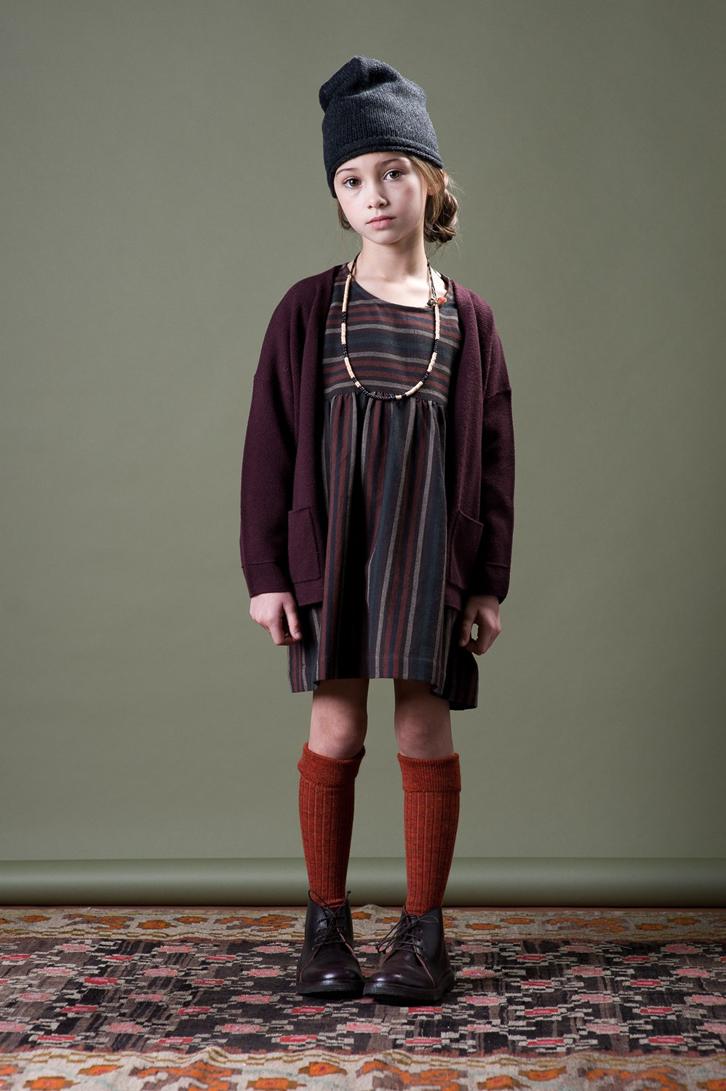 caramel-moda-infantil-niña-vestido-marron