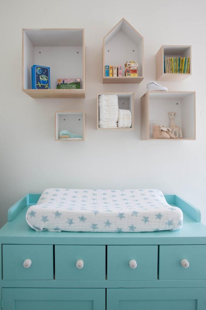 Habitaci n de beb en estilo n rdico - Muebles para habitacion de bebe ...