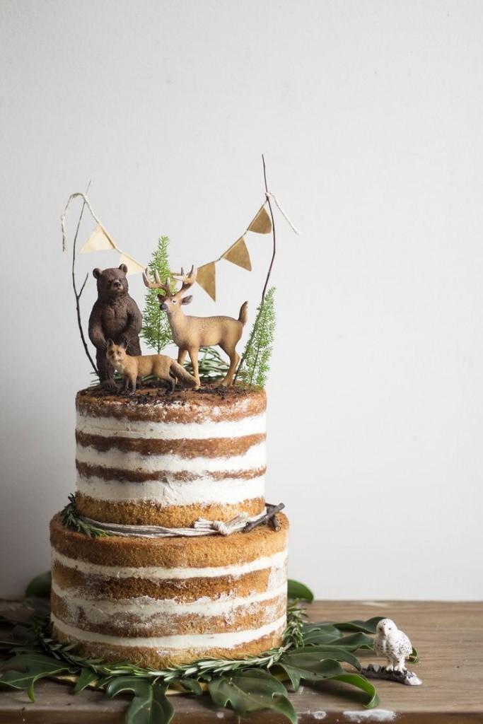 Ideas Para Decorar Las Tartas Con Animales De Juguete Decopeques - Ideas-para-decorar-una-tarta