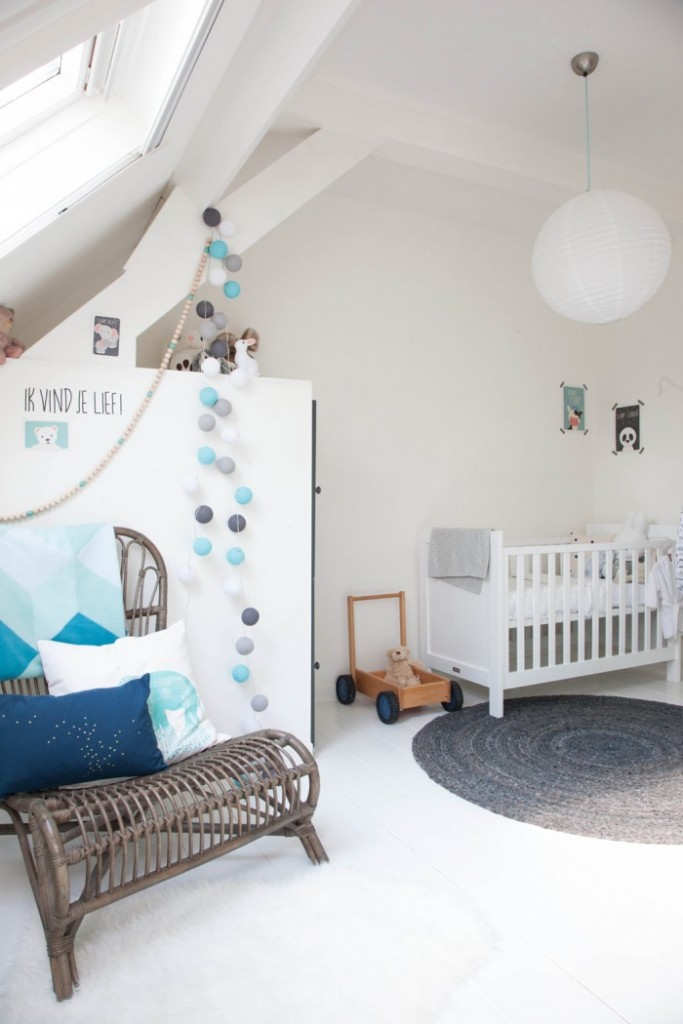 habitaci n de beb en estilo n rdico