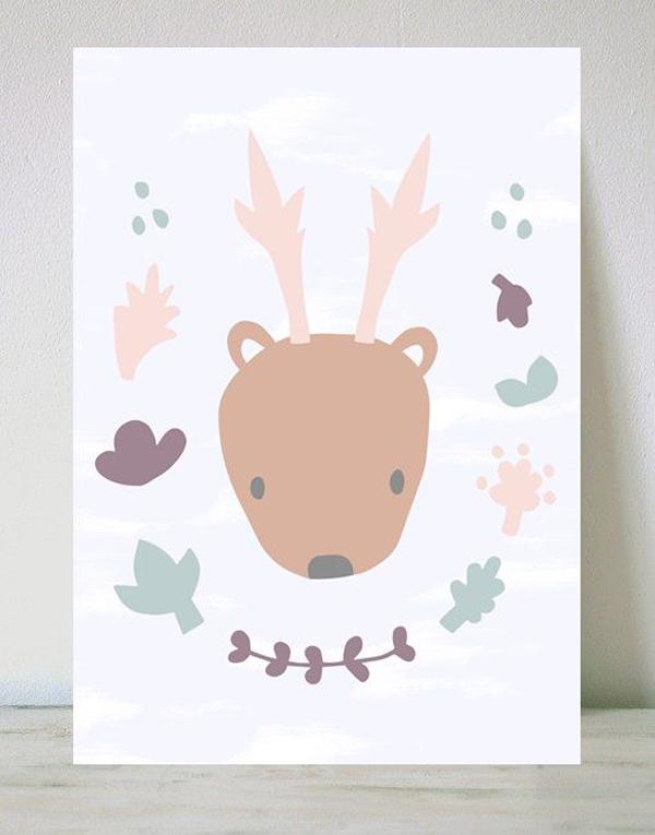 laminas-infantiles-ciervo-sara
