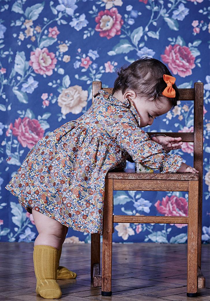 moda-infantil-otoño-la-coqueta-vestido-flores-bebe