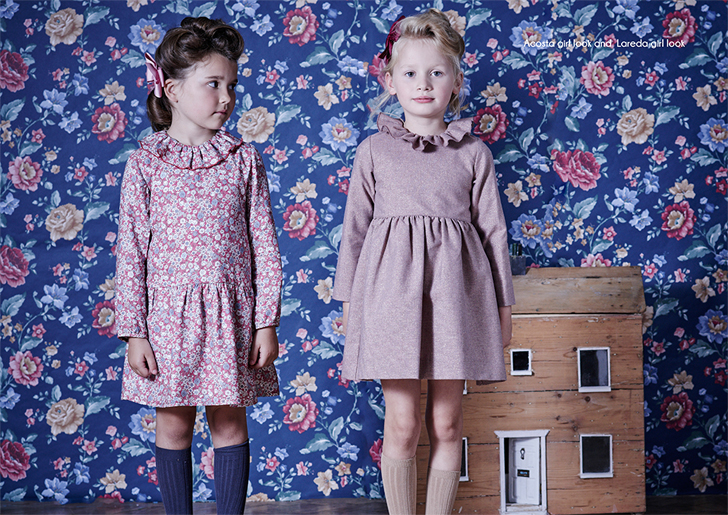 Otoño vintage con la moda infantil La coqueta