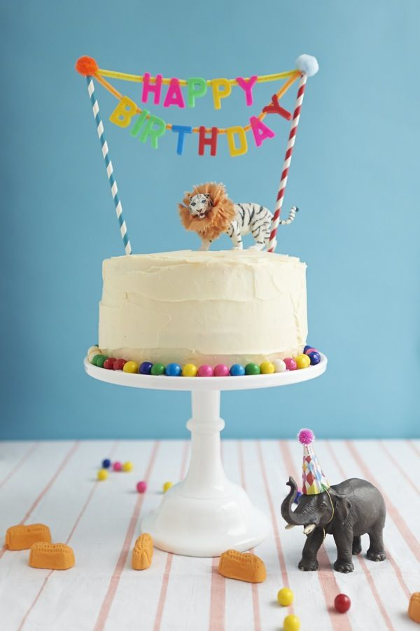 Ideas Para Decorar Las Tartas Con Animales De Juguete Decopeques - Diy-decoracion-cumpleaos