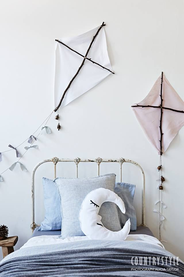 ideas de decoracin infantil cometas diy