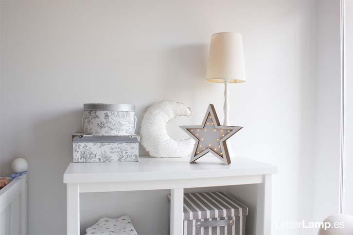 lamparas-sostenibles-letterlamp-estrella-blanca
