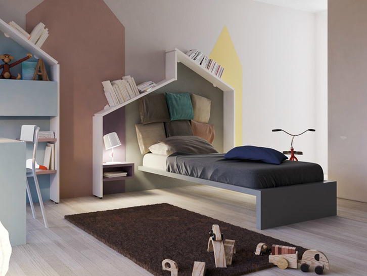 Mueble juvenil la originalidad de lago decopeques for Habitaciones ninos el mueble