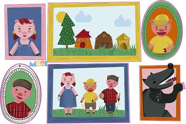 posters vinilos infantiles