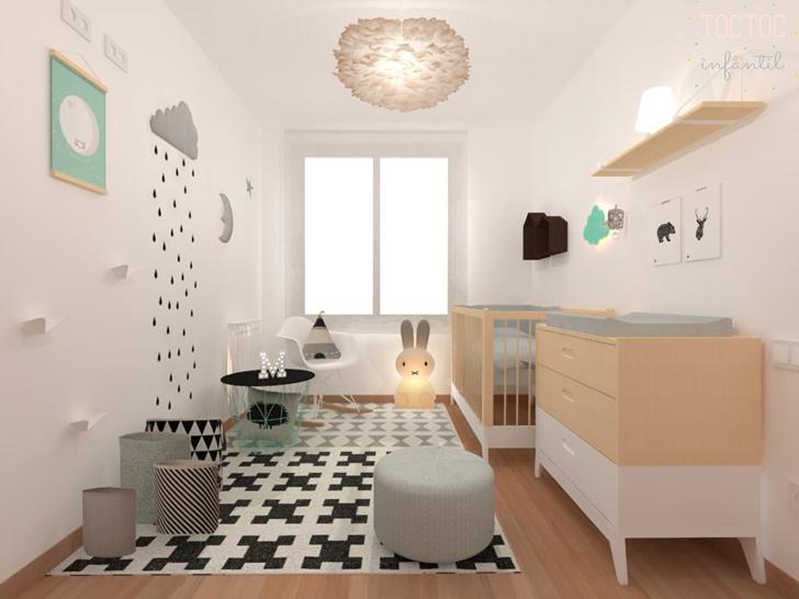 Proyectos de habitaciones infantiles en toctoc decopeques - Diseno de habitaciones infantiles ...