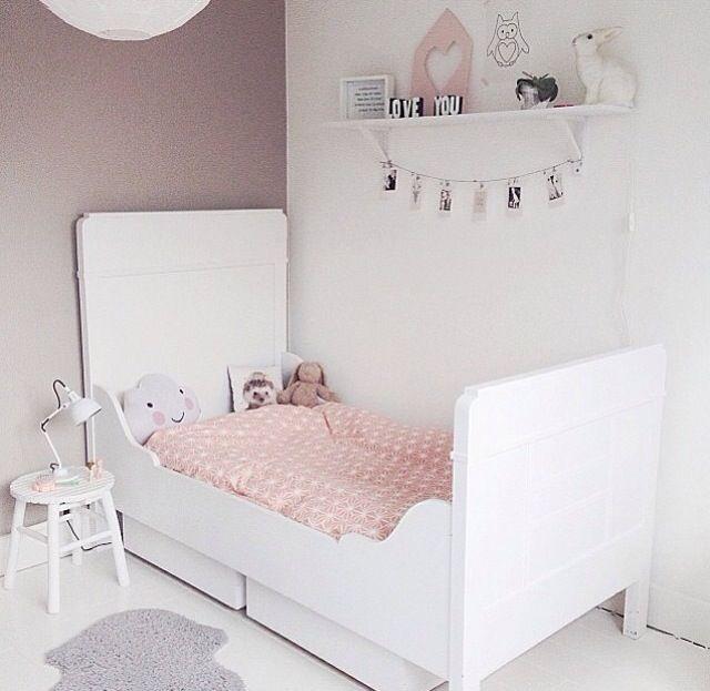 Antes y despu s papel pintado en la habitaci n infantil - Papel pintado para habitacion nina ...