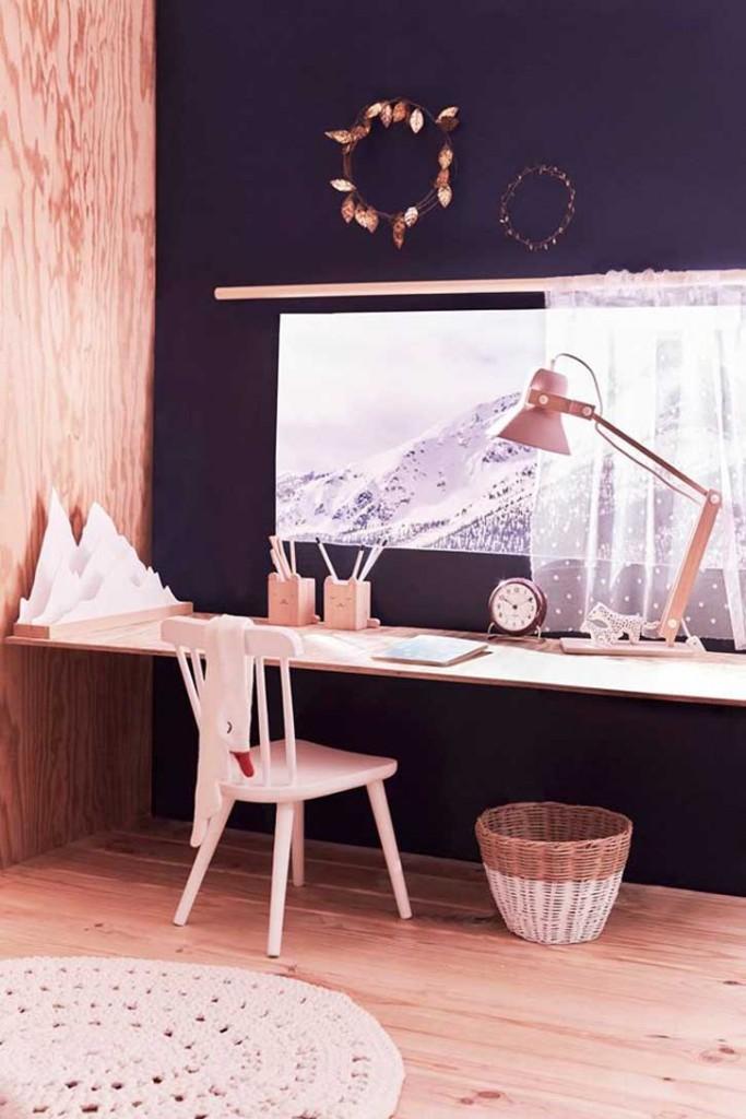 habitacion-infantil-madera-escritorio