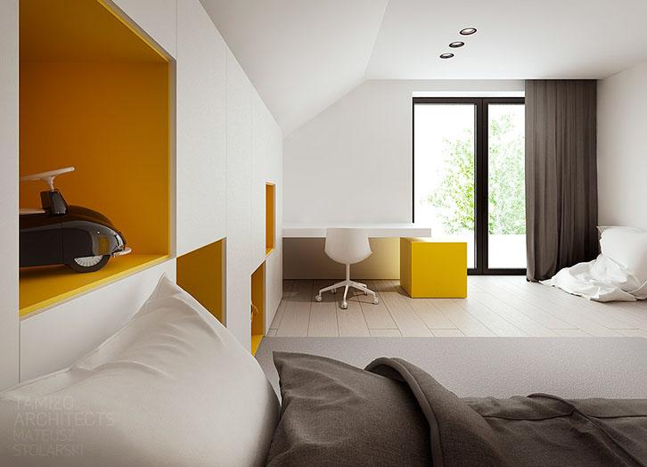 habitaciones-juveniles-estilo-minimalista-amarillo