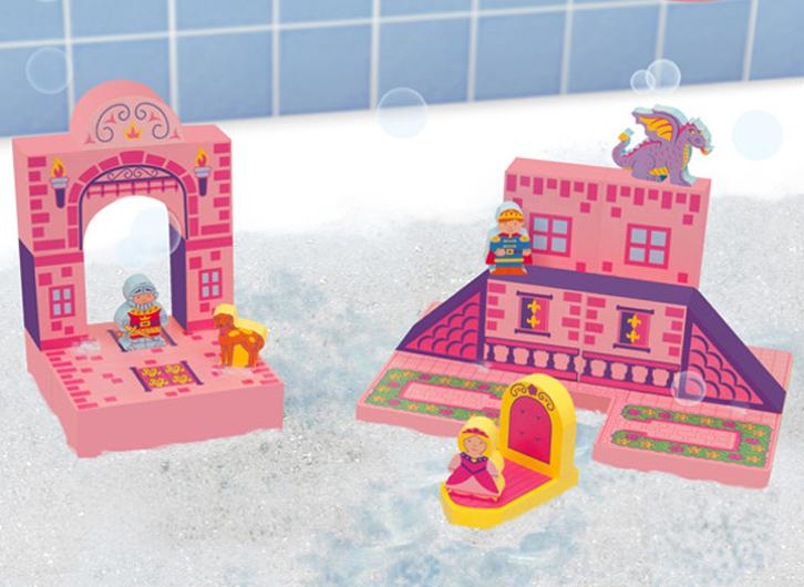 Juguetes creativos para la bañera