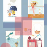 Nuevas láminas para cuadros infantiles
